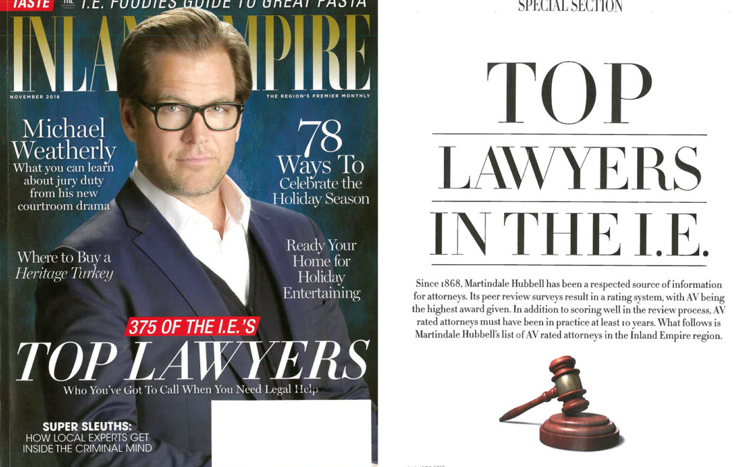 Inland Empire Top Lawyers