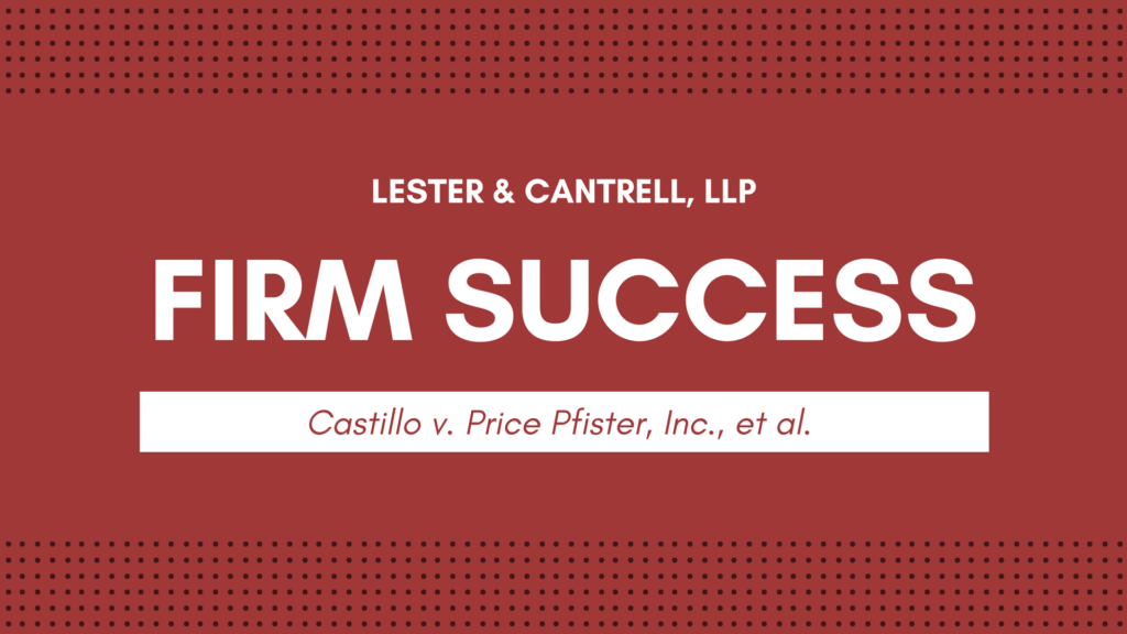 Castillo v. Price Pfister, Inc