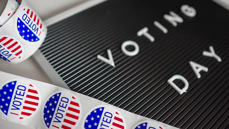 Tomorrow is Election Day, which means that all businesses must allow their employees to take up to two paid hours to vote - either at the beginning or the end of their shift. Photo by Element5 Digital on Unsplash.