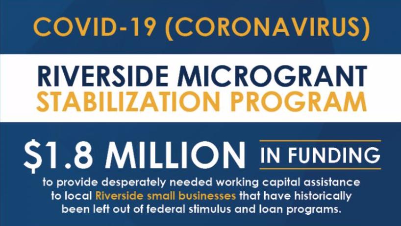 City of Riverside Grant Program for Small Businesses