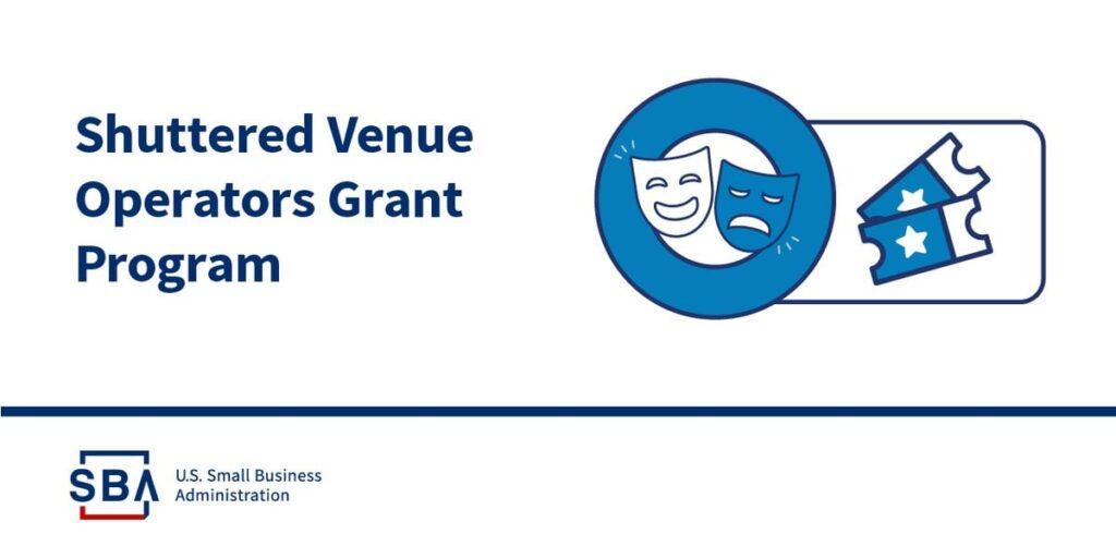 SBA announced it will begin sending invitations for supplemental awards for the Shuttered Venue Operators Grant program.